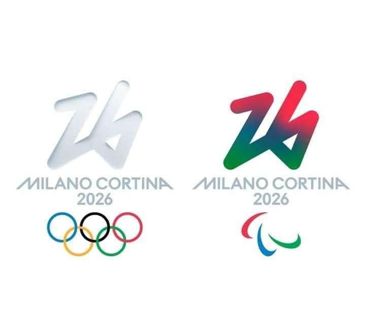 SIMBOLO UFFICIALE MILANO CORTINA 2026